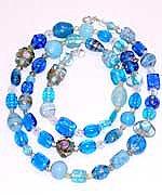 Long Blue Necklace