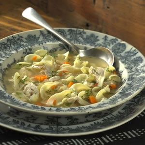 Fast & Easy Dinner: Chicken Noodle Soup With Dill