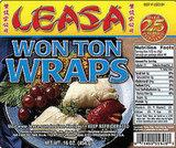 Sweet Sesame Wonton Crisps