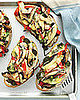 Fast &amp; Easy Dinner: Portobello, Broccoli, and Red-Pepper Melts