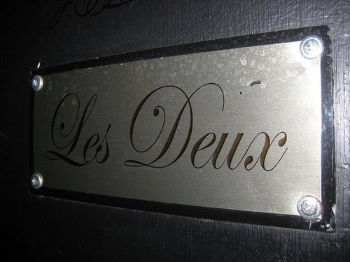 Living It Up at Les Deux