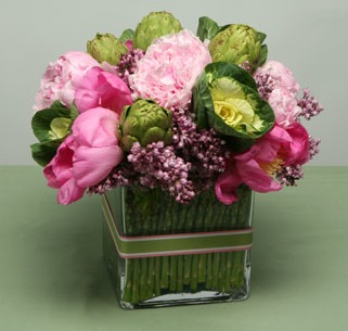 Floral and Vegetable Arrangements