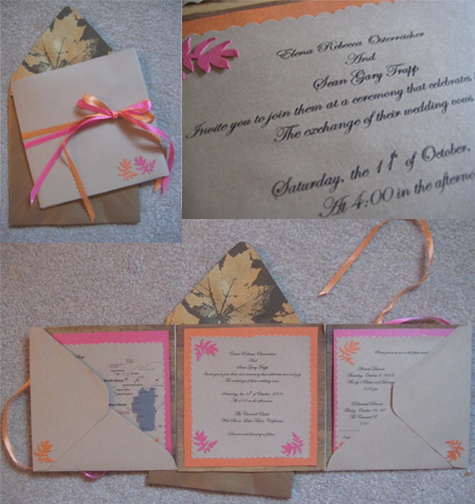 Wedding Invite: Step by Step