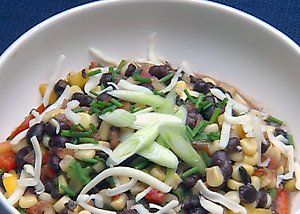 Sunday Dinner: Black Bean and Roasted Corn Salad