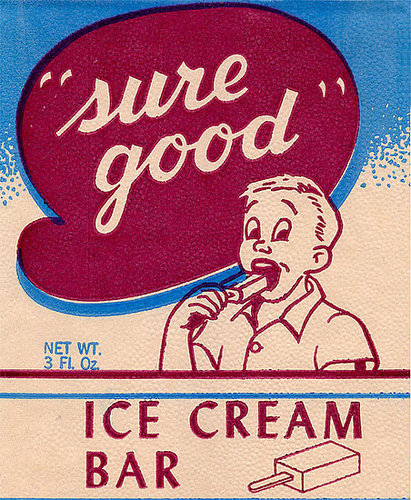 Match the Ice Cream Advertisement to Its Year of Publication