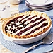 Summer's bounty of cherries go to good use in this juicy flag pie.