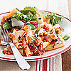 Fast & Easy Dinner: Baked Pasta With Sausage, Tomatoes, and Cheese