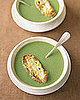 Fast & Easy Dinner: Broccoli Soup With Cheddar Toasts