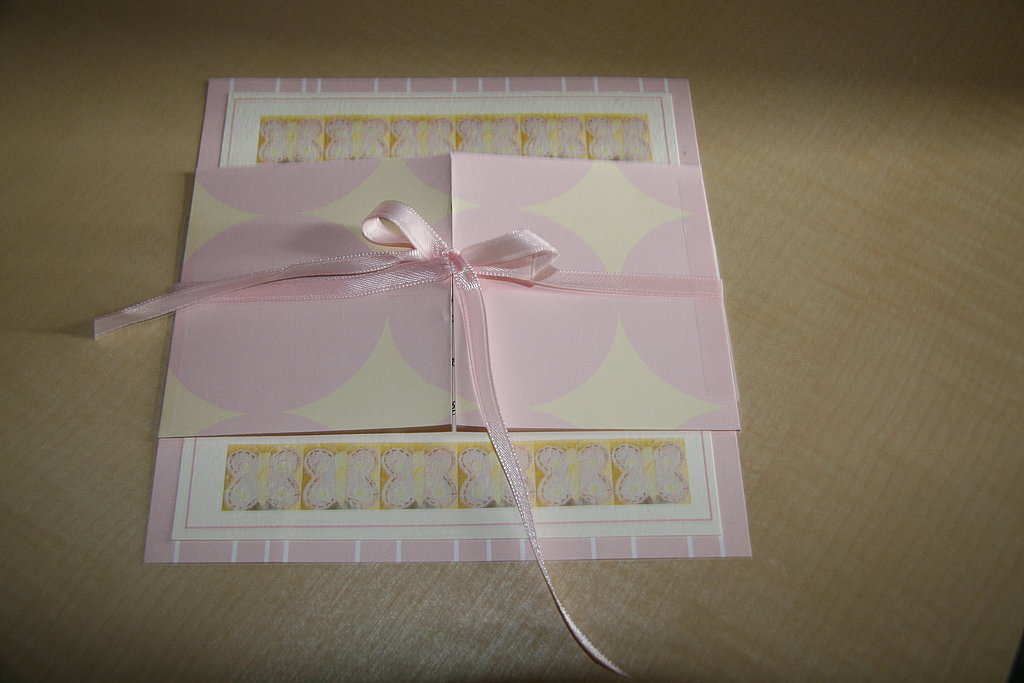 Baby Shower Invites: Step by Step