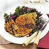 Fast &amp; Easy Dinner: Breaded Pork With Cabbage and Kale