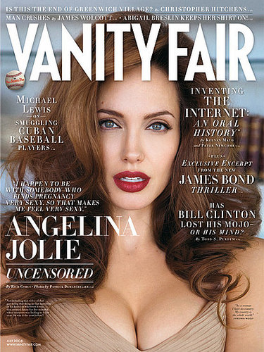 Angelina, Pregnant and GORGEOUS on the Cover of Vanity Fair!