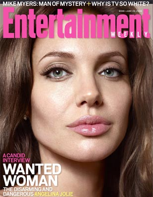 Angelina in EW: I Drew Brad&#039;s Latest Tattoo