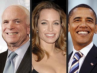 Angelina Jolie still undecided on her Presidential candidate.