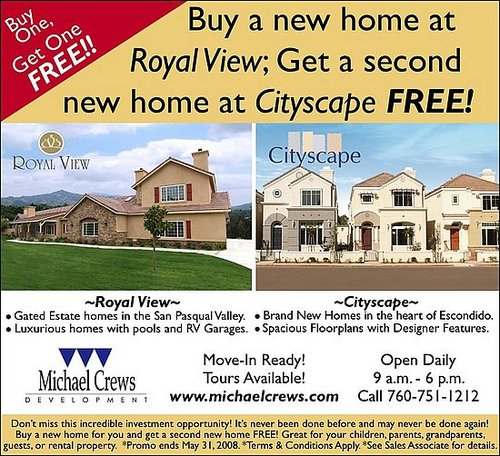 Buy One Get One Free Houses