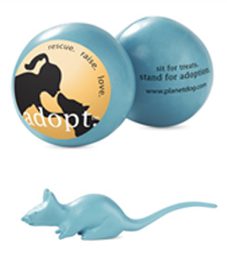 Planet Dog Adopt. Mouse and Adopt. Ball