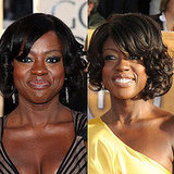 Viola Davis' Eye Shadow