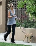 Chloe (and LC) Take an LA Walk