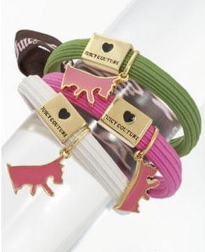 Juicy Couture Elastic Pony Set