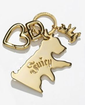 Juicy Couture Scottie Key Fob