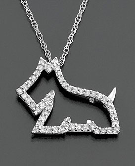 Diamond Dog Pendant