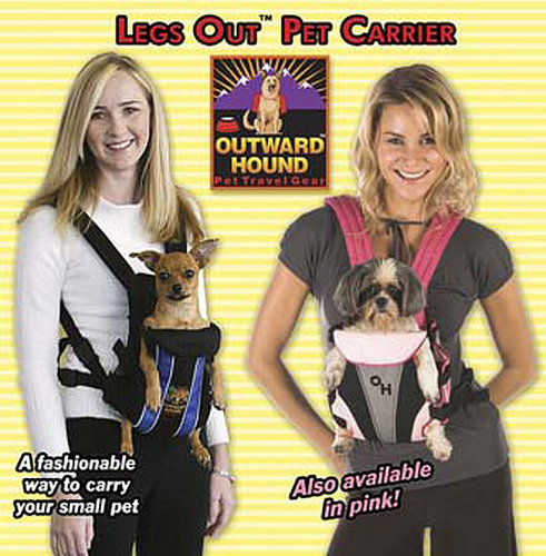 Legs Out Front Pet Carrier: Spoiled Sweet or Spoiled Rotten?
