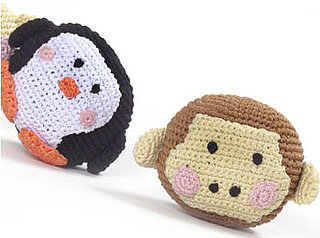 Pampered Pals: Woven Penguins and Monkeys