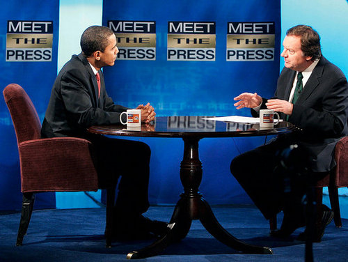 Who's Watching Obama on Meet the Press?