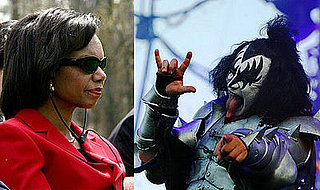 Condoleezza Rice Commands Kiss Army, Rocks All Nite Long