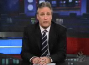 Daily Show Says, In: Historic, Out: Inevitable, Sad: Green Wall