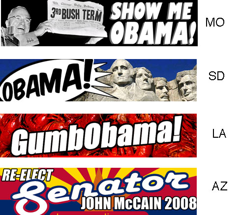 Fifty Nifty Obama Bumper Stickers — Which Is Your Fave?