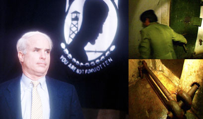 Pictures of McCain's Vietnam Cell, Plus First-Person Account
