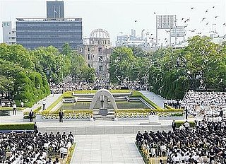 Hiroshima Mayor Asks US To Back Nuclear Ban On 63rd Anniversary of Atomic Bomb