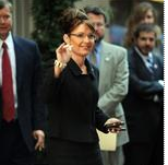 Palin Meets Karzai Without Usual Reporters in Tow