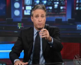Jon Stewart Takes on Sarah Palin About Real America Comment