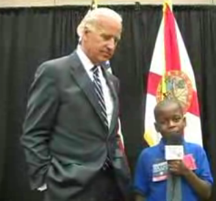 Joe Biden Takes A Crack At Explaining To A Child What Vice Presidents Do