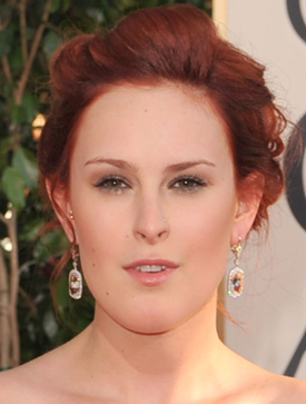 Rumer Willis at the 2009 Golden Globe Awards