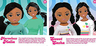 Michelle Obama doesn't like Malia and Sasha Dolls