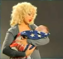 Christina Aguilera Rocks the Vote With Max
