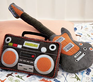 Rock and Roll Pillows to Soothe Kid's Soul