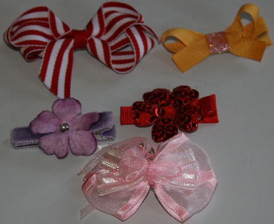 Bows and Hairclips