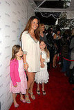 Brooke Burke walked the red carpet with her two oldest daughters.