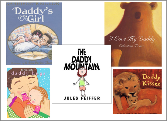 Father&#039;s Day Books for Daddy and Baby