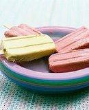 Frozen Yogurt Popsicles
