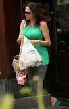 Minnie Driver Picks Up a Few Things