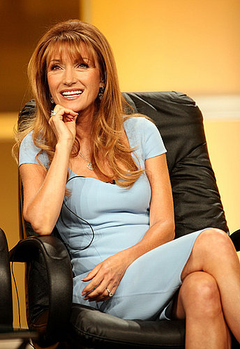 Jane Seymour Gives Angelina Pregnancy Advice