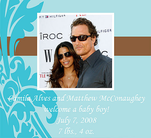 Matthew McConaughey and Camila Alves Have a Baby