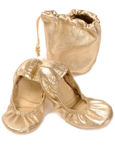 Sparkly Gold Toes