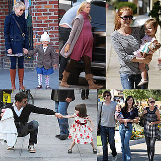 Celebrities and Their Babies Over the Weekend 2008-10-20 15:00:09