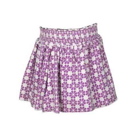 Lilac Tile Print Skirt ($58)