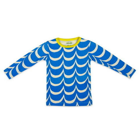 Blue Wave Tee ($43)